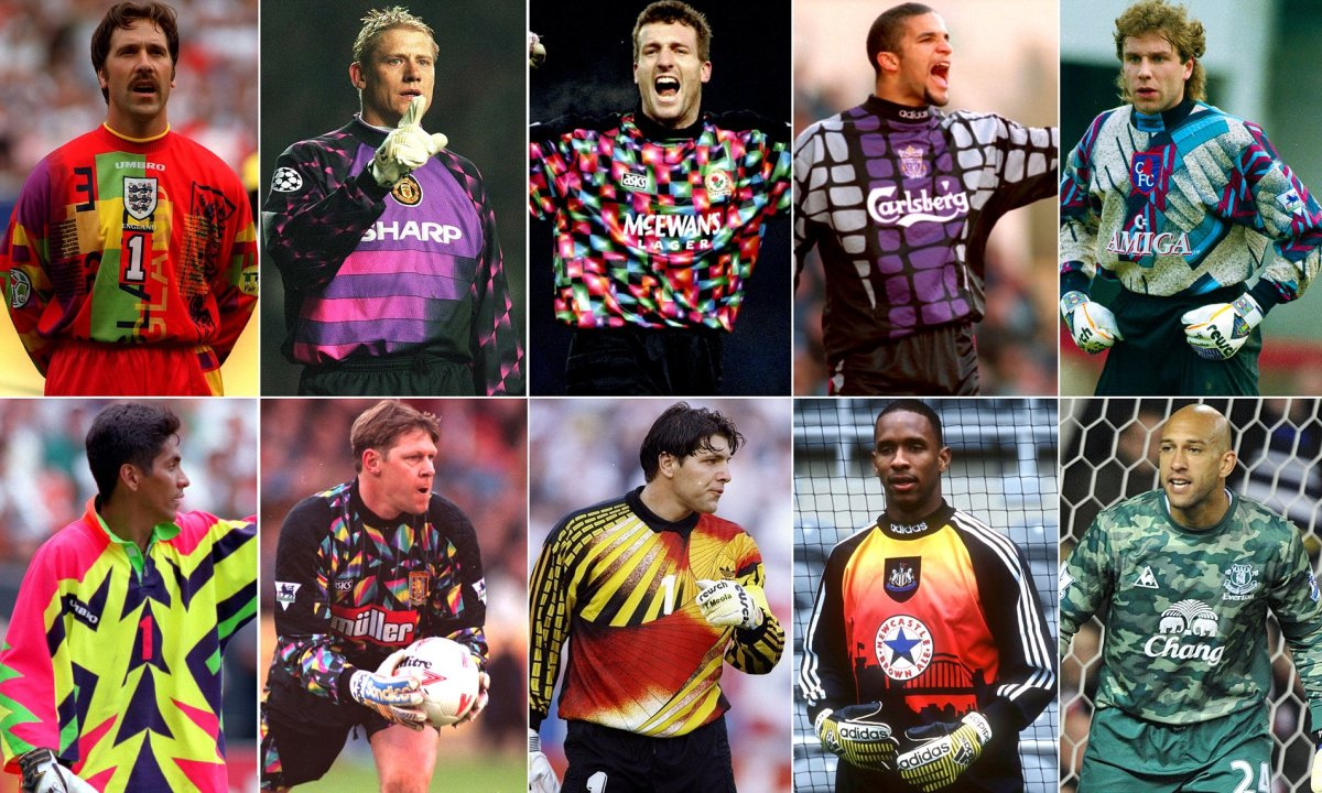 TOP 5 KITS: CRAZY 90s GOALKEEPER SHIRTS
